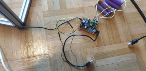 Ladeelektronik und Akkus
