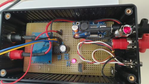 Frequenzgenerator - Ansicht Platine