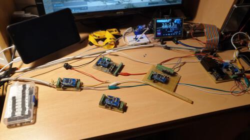 SLSS CarNet - Übersicht Controller-Boards