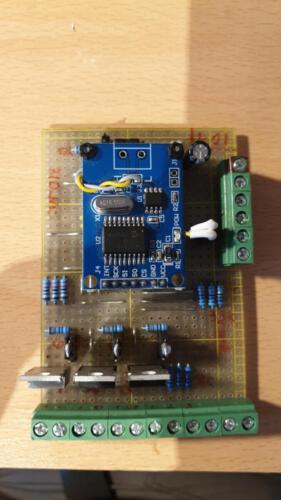 SLSS CarNet - Controller-Board mit 3 Digital-IOs (n-Channel-Version)