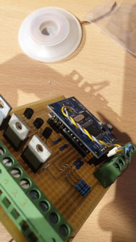SLSS CarNet - Controller-Board mit 3 Digital-IOs (p-Channel-Version)