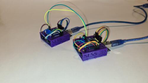 Zusammengesetzte Halterung inkl. Arduino & CAN-Board