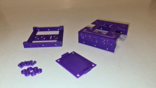 3D Druckteile direkt nach dem Drucken