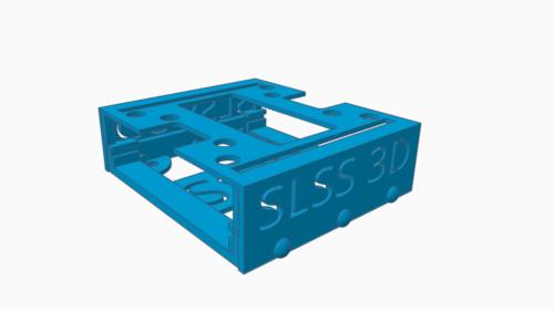 Halter Arduino CAN Board zusammengesetzt_4to3 ohne CAN