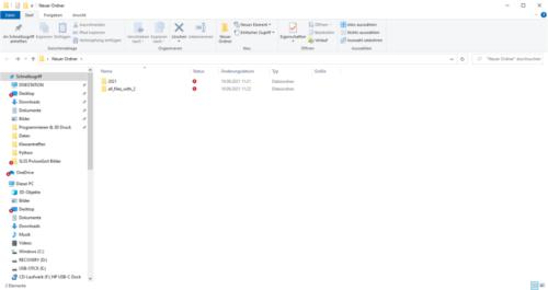 SLSS PictureSort V1.0.1.0 - Ansicht Zielverzeichnis